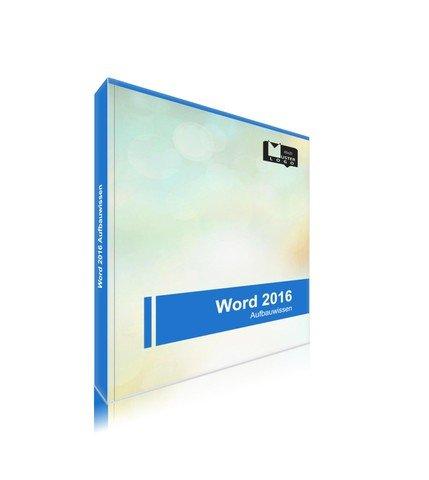 Word 2016 Aufbauwissen - Blau (190x240)
